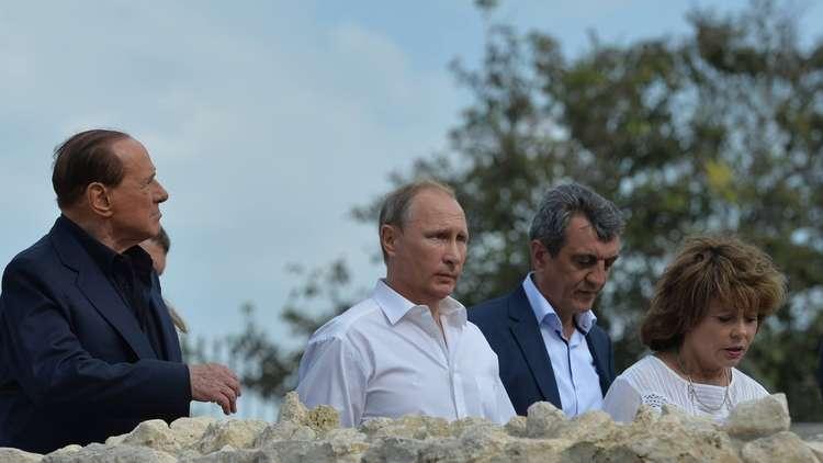 برلوسكوني: القرم أجمل منطقة في روسيا