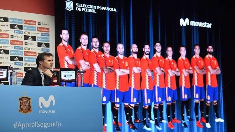 تعرف على تشكيلة منتخب إسبانيا لمونديال روسيا