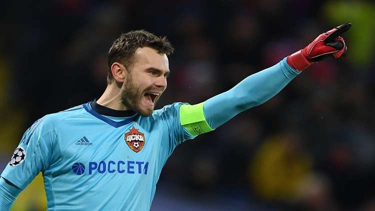 أكينفييف أفضل حارس في روسيا للمرة العاشرة في تاريخه