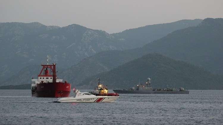 التحالف العربي يكشف عن الجهة التي هاجمت سفينة الشحن التركية