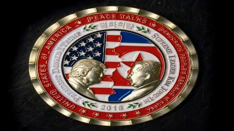 البيت الأبيض يصدر ميدالية تذكارية بمناسبة قمة ترامب-كيم المرتقبة