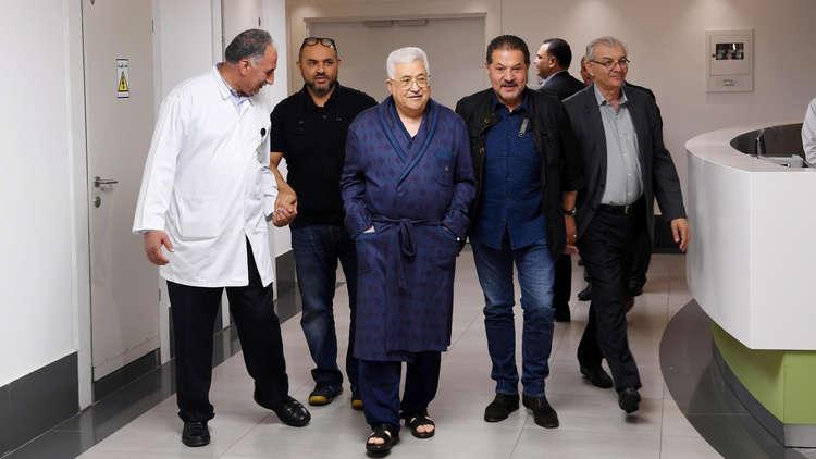 مسؤول فلسطيني: لا خطر على صحة الرئيس عباس