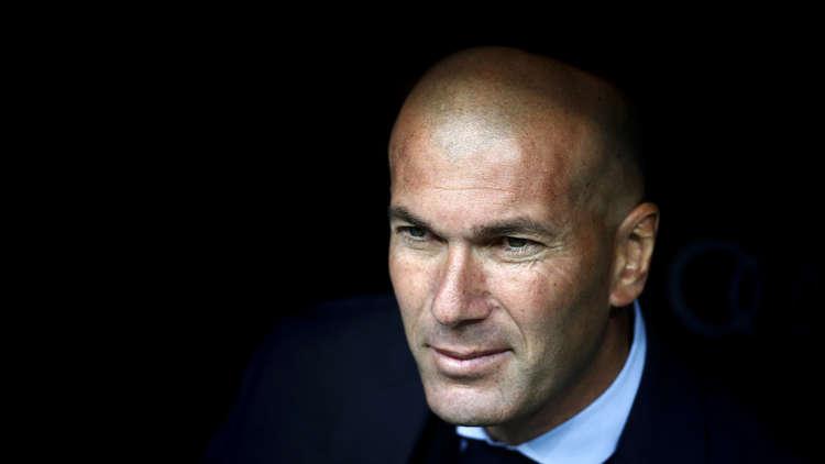 زيدان يؤكد أن ريال متعطش لإحراز لقب دوري الأبطال