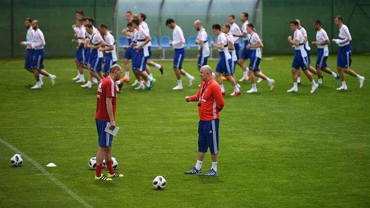 مونديال 2018.. دزيوبا ودزاغويف ينضمان للتدريبات الجماعية لمنتخب روسيا
