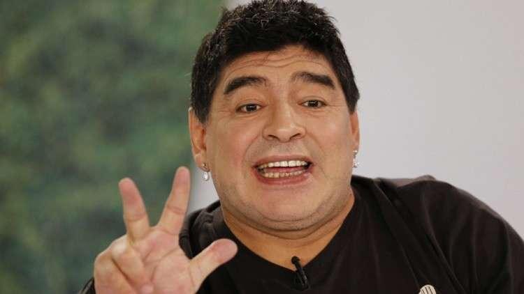مارادونا في جاهزية تامة لبدء عمله مع دينامو بريست البيلاروسي