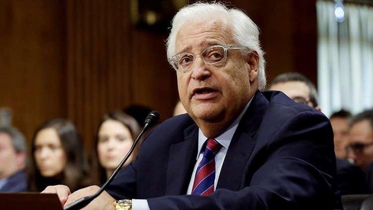 واشنطن: رفض إسرائيل لخطة ترامب مقبول ومشروع لكن رفض الفلسطينيين لها غير مقبول ونحذرهم
