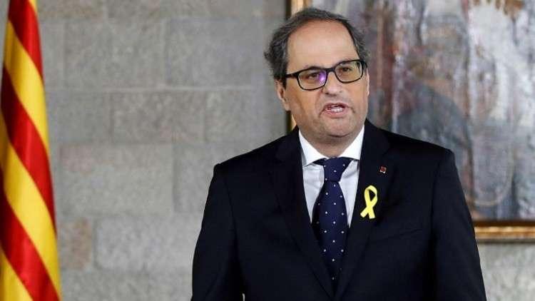 كتالونيا تستجيب لشرط مدريد وتستثني الانفصاليين المنفيين من الحكومة