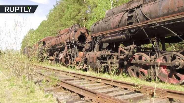 رحلة إلى عالم قطارات سوفييتية قديمة