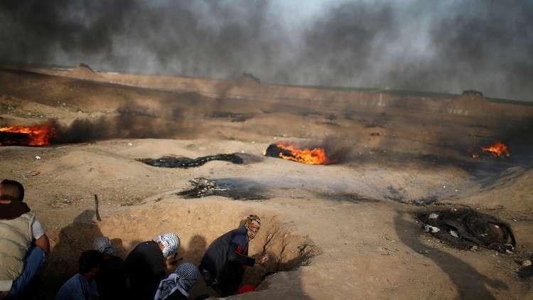 وفاة فلسطينيين إثر جرحهما خلال مسيرات العودة في غزة