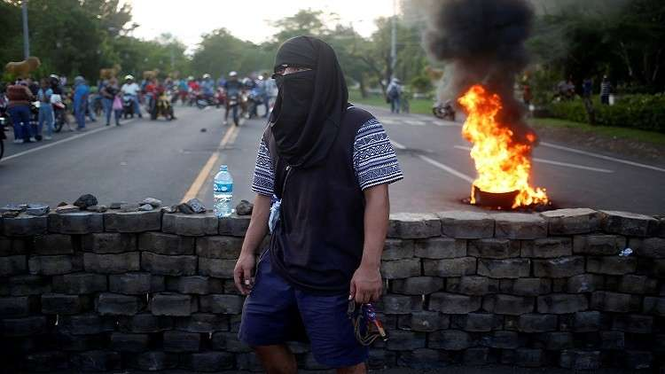 قتيلان و54 جريحا بأعمال شغب في نيكاراغوا