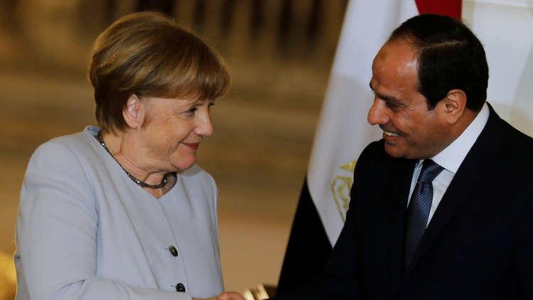 ألمانيا مستعدة لدعم مصر في تأمين حدودها
