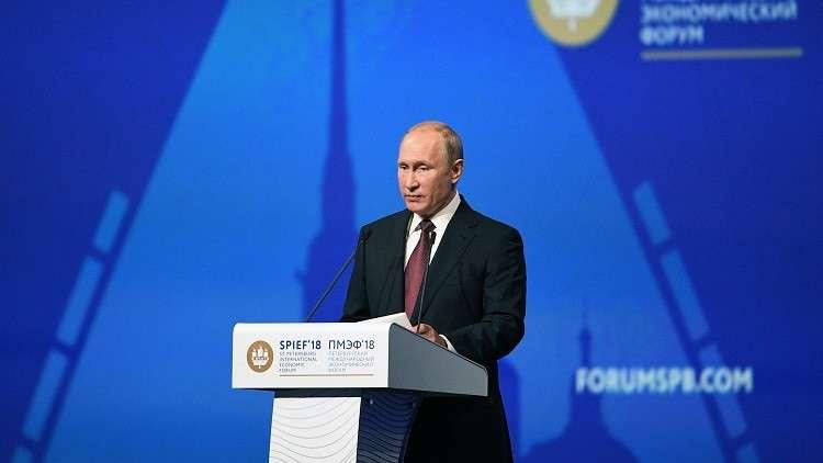 بوتين: الخطوات الأحادية الجانب بشأن الصفقة مع إيران ستقود إلى مأزق