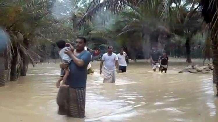 اليمن.. 5 قتلى و40 مفقودا في سقطرى جراء إعصار