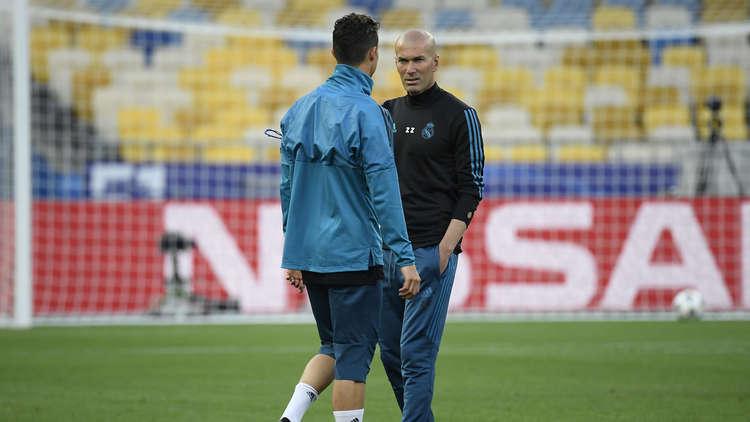 شاهد التدريبات الأخيرة لريال مدريد قبل موقعة نهائي أبطال أوروبا