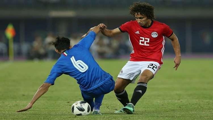 """مصر تتعادل مع الكويت """"وديا"""" استعدادا للمونديال"""