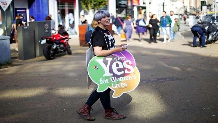 استطلاع.. الإيرلنديون ينتصرون للإجهاض!