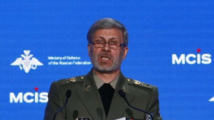 وزير الدفاع الإيراني: لن نتفاوض مع أحد حول قدراتنا الصاروخية والدفاعية