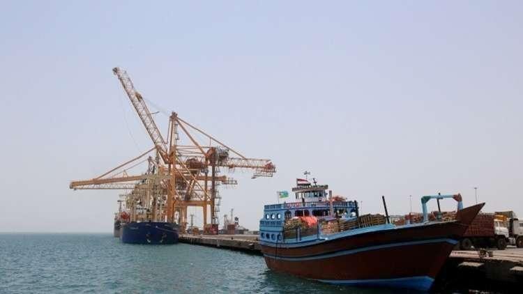 وصول أكبر شحنة مساعدات غذائية إلى ميناء الحديدة في اليمن