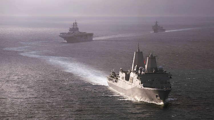 مناورات أمريكية قرب جزر متنازع عليها في بحر الصين الجنوبي