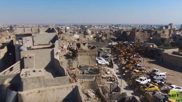 إعادة إعمار أقدم وأشهر شوارع الموصل