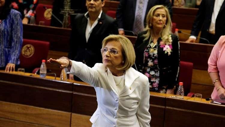 أول امرأة تشغل منصب رئاسة باراغواي
