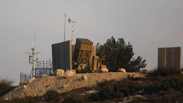صواريخ إسرائيلية تعترض قذائف صاروخية من غزة