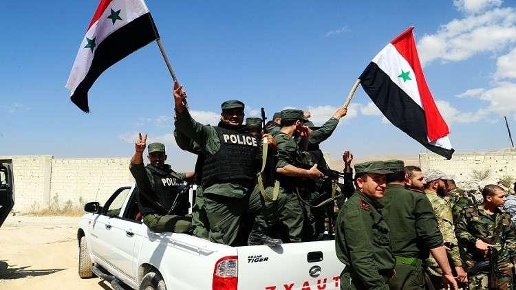 رجال المدفعية السوريون يستخدمون تكتيكا جديدا