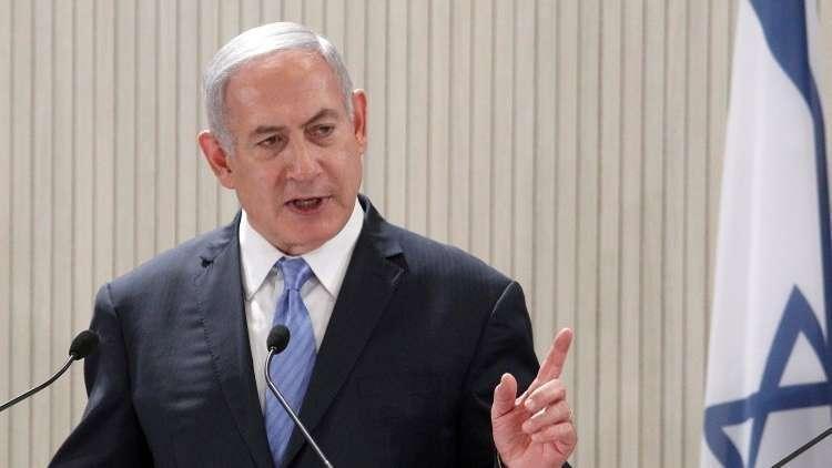 نتنياهو: الجيش الإسرائيلي سيرد على الصورايخ التي أطلقت من غزة