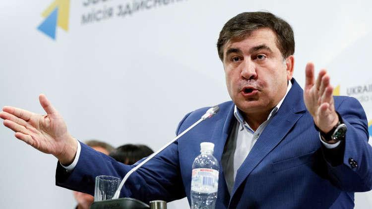 سآكاشفيلي يحث الدول الأوروبية على فرض عقوبات على الرئيس الأوكراني