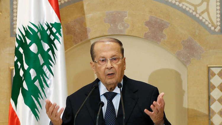 عون يدعو واشنطن إلى مساعدة لبنان لإعادة النازحيين السوريين