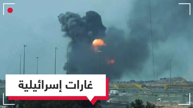 غارات إسرائيلية على غزة