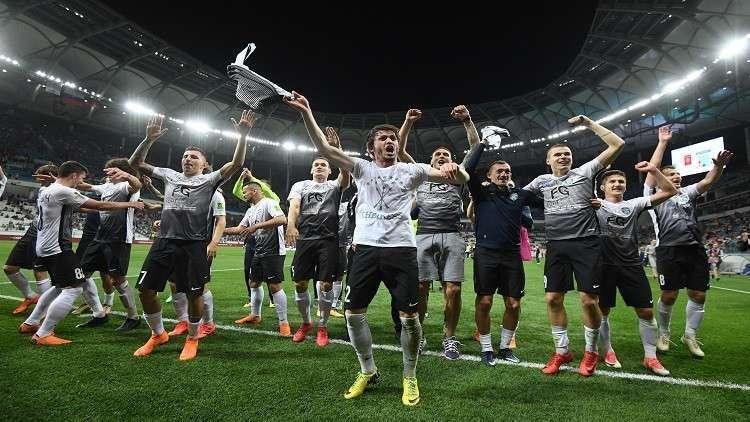 أبطال كأس روسيا لكرة القدم يطلبونالعون من بوتين