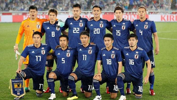 منتخب اليابان يكشف قائمته النهائية لمونديال روسيا