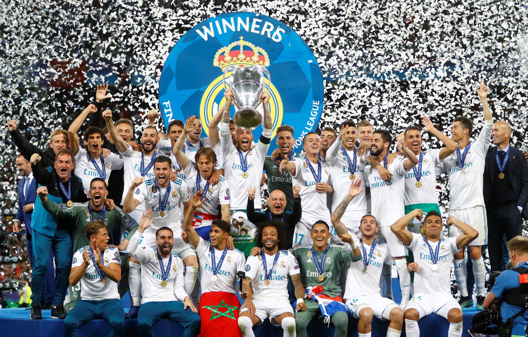 ريال مدريد بطلا للمرة 13 في دوري أبطال أوروبا - RT Arabic