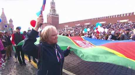 روسيا ودول العالم يحتفلون بعيد العمال