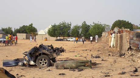 هجوم سابق في نيجيريا