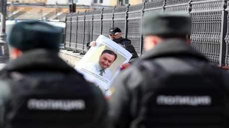 صورة ارشيفية لفعالية احتجاج ضد وفاة سيرغي ماغنيتسكي