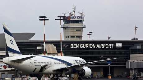 مطار بن غوريون في إسرائيل