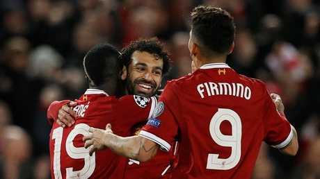 """ثلاثي ليفربول يحطم رقم """"BBC"""" القياسي في دوري الأبطال"""