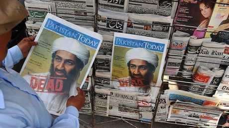 الصحف الباكستانية بعد مقتل أسامة بن لادن عام 2011