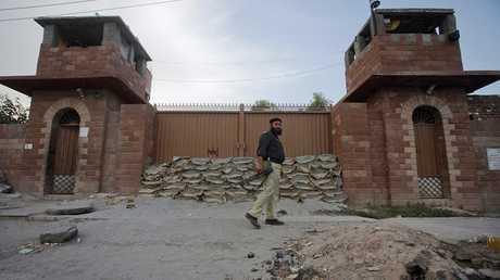 السجن المركزي في مدينة بيشاور شمال غربي باكستان الذي احتجز فيه الطبيب شكيل أفريدي