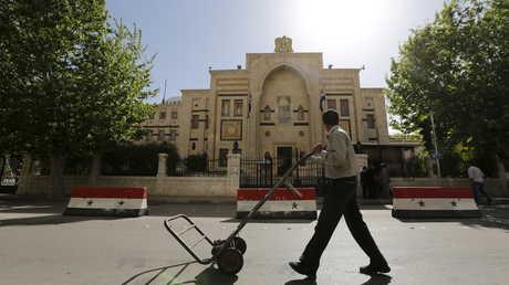 مبنى مجلس الشعب السوري في دمشق