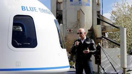 الملياردير الأمريكي جيف بيزوس
