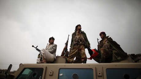 قوات تابعة للحكومة اليمنية