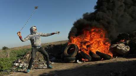 احتجاجات الفلسطينيين في غزة