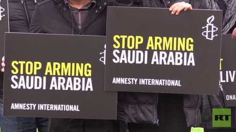 قانونية بيع أسلحة بريطانية إلى السعودية