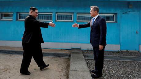 لقاء القمة بين زعيمي الكوريتين الشمالية والجنوبية