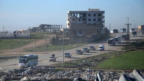 إخراج مسلحين من حمص (أرشيف)