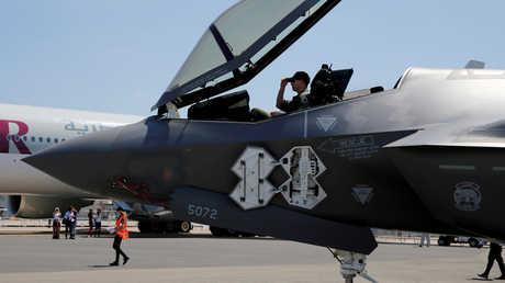 """طائرة """"اف-35"""" الأمريكية، أرشيف"""