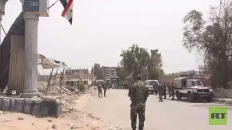 خروج حافلات تقل مسلحين من جنوب دمشق